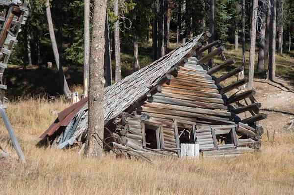 Cabin, Bergdorf, Idaho